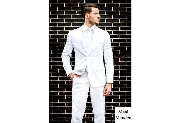 hvidt jakkesæt mænd